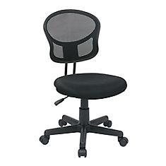 Mesh Task Chair in Black