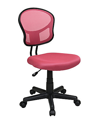 Office Star Pink Mesh Task Chair | The Home Depot Canada on pink bistro chair, pink butterfly chair, pink desk, pink stackable chair, pink egg chair, pink web chair, pink office drawers, pink pod chair, pink office curtains, pink spinning chair, pink shampoo chair, pink kitchen chair, pretty pink chair, pink computer chair, pink plastic chair, pink pool chair, pink arm chair, pink office supplies and accessories, pink accent chair, pink room chair,