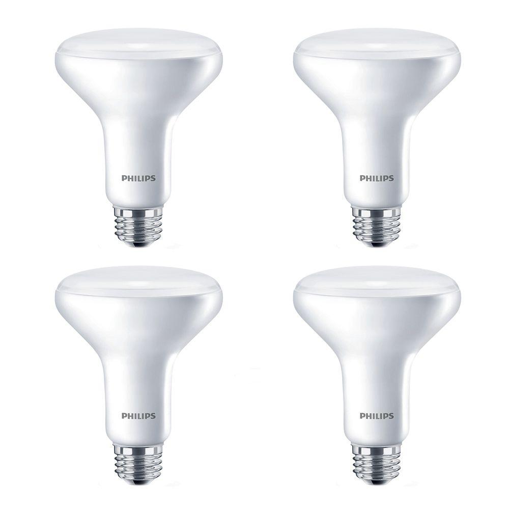 LED 65W BR30 Soft White (2700K) - 4 Pack