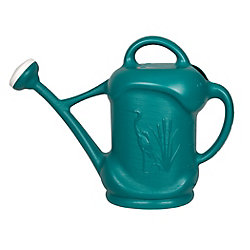 DCN 3 US Gal. / 11,3L Watering Can with Heron Design, Blue