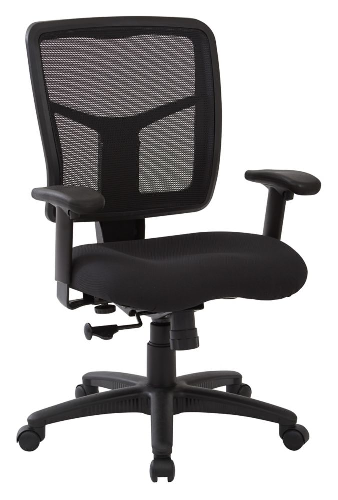 Work Smart Screen Back Managers Chair