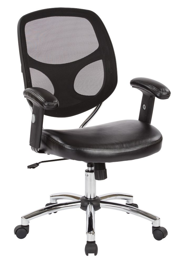 Work Smart Screen Back Task Chair
