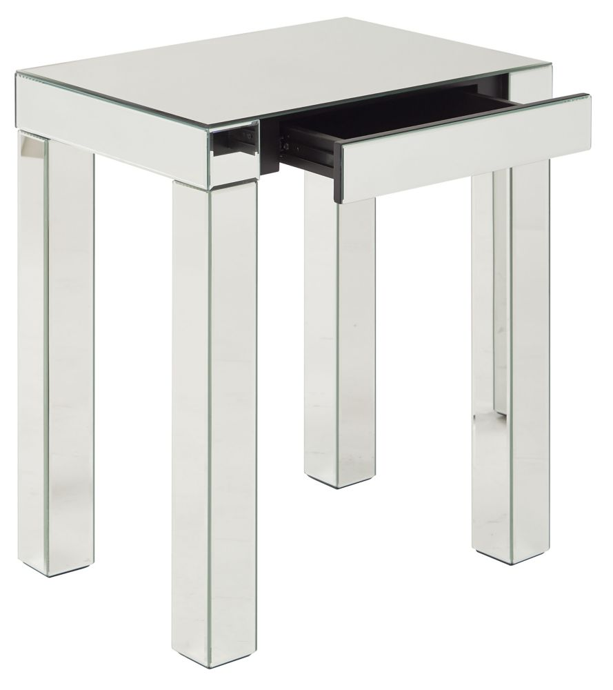 Work Smart Avenue Six Reflections Accent Table