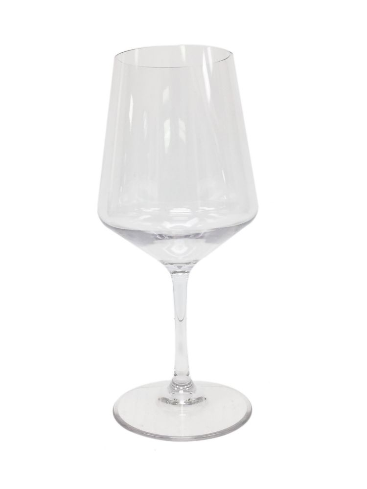 Tritan red wine glass 17oz