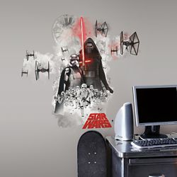 RoomMates Star Wars The Force Awakens Ep VII Villians Burst P&S Giant Wall Decal