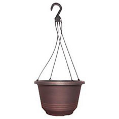 12 1/2-inch Torino Hanging Basket (With H-22-4HEV)