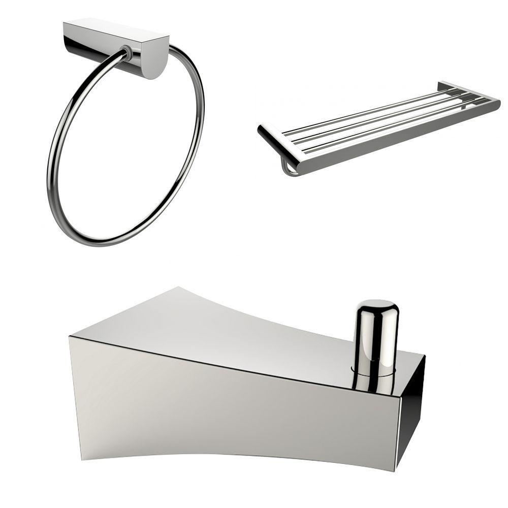 Robe Hook, Porte-serviettes Multi-Rod Et Anneau de serviette Accessory Set