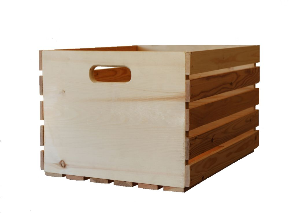 adwood manufacturing ltd 13 inch x 18 inch x 10 inch wooden crate the home depot canada. Black Bedroom Furniture Sets. Home Design Ideas