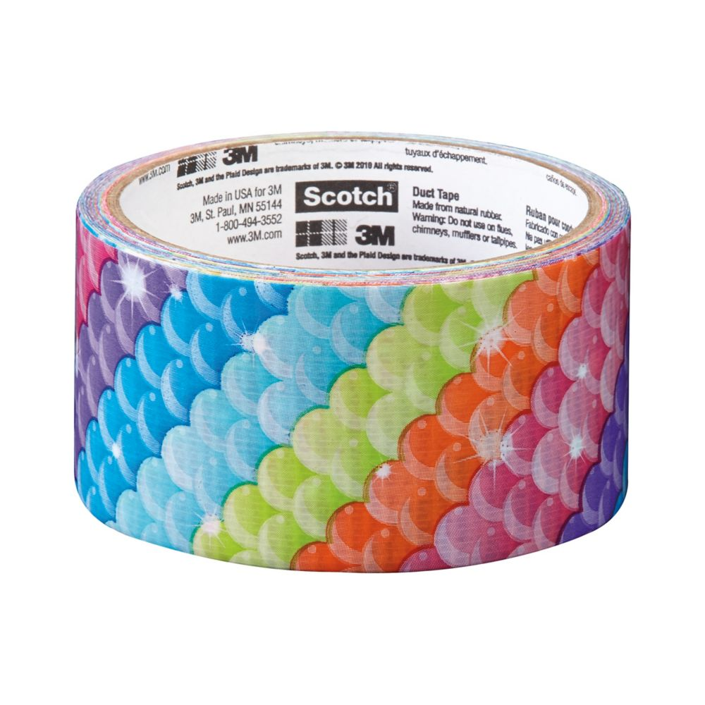 Scotch Duct Tape Rainbow Scale