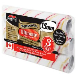 BENNETT 3 Pack 9.5 inch Ultimate Woven Rollers, 15MM