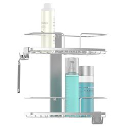 Better Living Fineline 2 Tier Shower Basket Ss