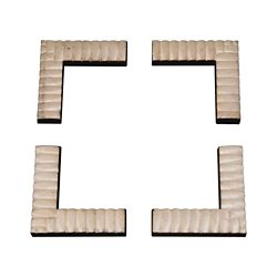 Ornamental Mouldings Picture Frame System Reeded Face Brackets