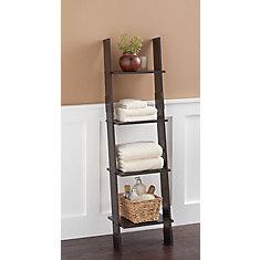 Ladder Style Linen Tower - Espresso