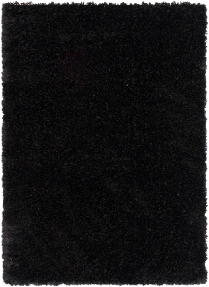ecarpetgallery tapis uptown poil long noir fonc fait. Black Bedroom Furniture Sets. Home Design Ideas
