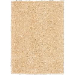 ECARPETGALLERY Carpette, 5 pi 3 po x 7 pi 3 po, à poils longs, rectangulaire, havane Uptown
