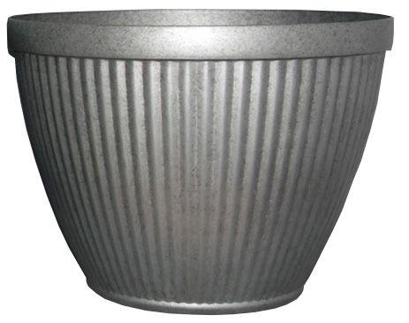 Jardinière Westland 52,07cm ( 20,5po), fini métal galvanisé