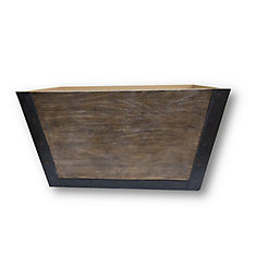 24-inch Wooden Aged Crate
