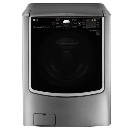 6.0 cu.ft. Mega Capacity Washer with TurboWash and Steam Technology in Graphite Steel - ENERGY STAR®