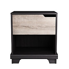 Stockholm 21-inch x 22.5-inch x 15.38-inch 1-Drawer Nightstand in Espresso
