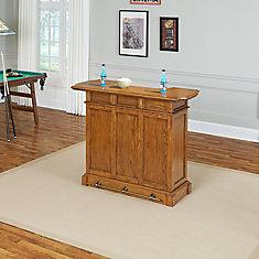 Americana Cottage Oak Bar