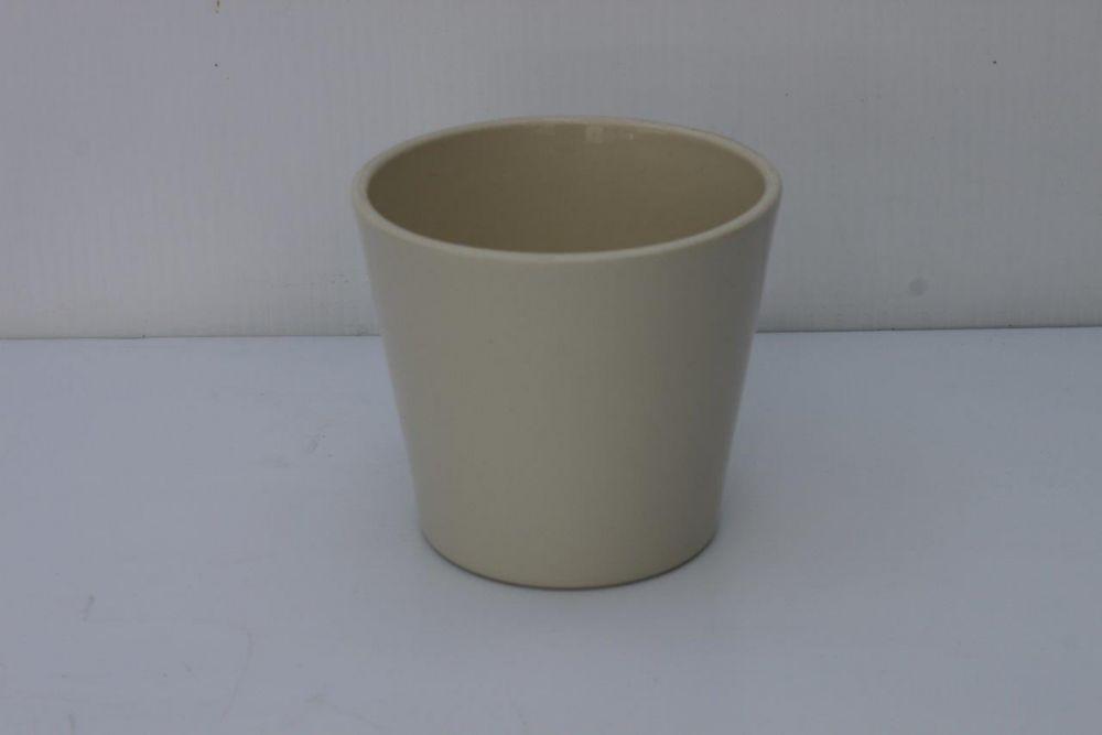 Ceramic Pot Panna Gloss 5in