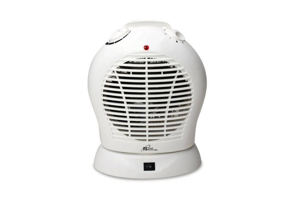 Royal Sovereign Oscillating Fan Heater The Home Depot Canada