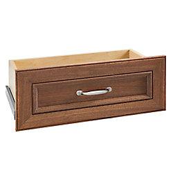 ClosetMaid Impressions 25 -inch Walnut Standard Drawer Kit