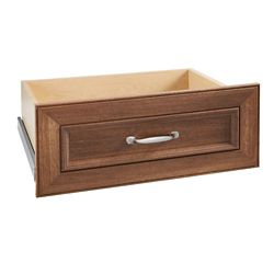 ClosetMaid Impressions 25 -inch Walnut Wide Deluxe Drawer Kit