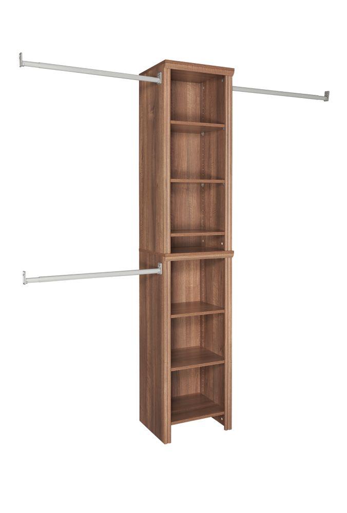 4 Feet-9 Feet Narrow Closet Kit
