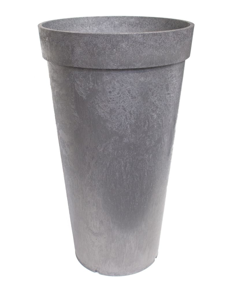 26 Inch Aria Planter Pewter