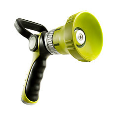 Ultimate High Pressure Flow Fireman's Nozzle with Ergonomic Handle