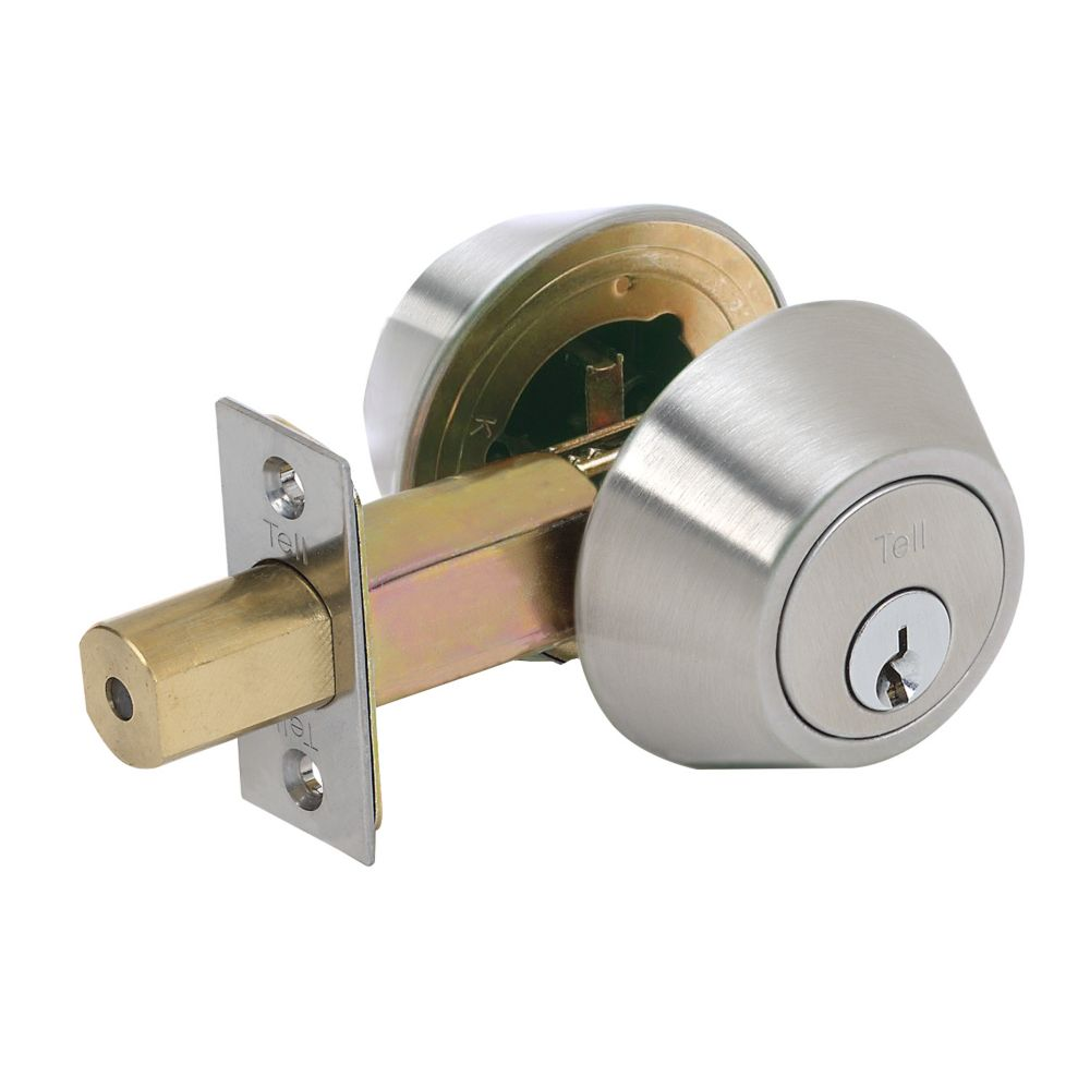 Tell Double Cylinder Commercial Deadbolt