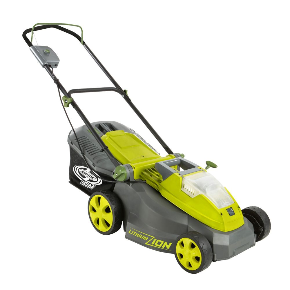 iON 40-Volt Cordless 16-Inch Lawn Mower W/ Brushless Motor (Battery + Charger Not Included)