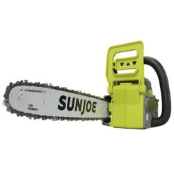 Sun Joe iON 16-inch 40V Cordless Chainsaw with Brushless Motor (Tool Only)