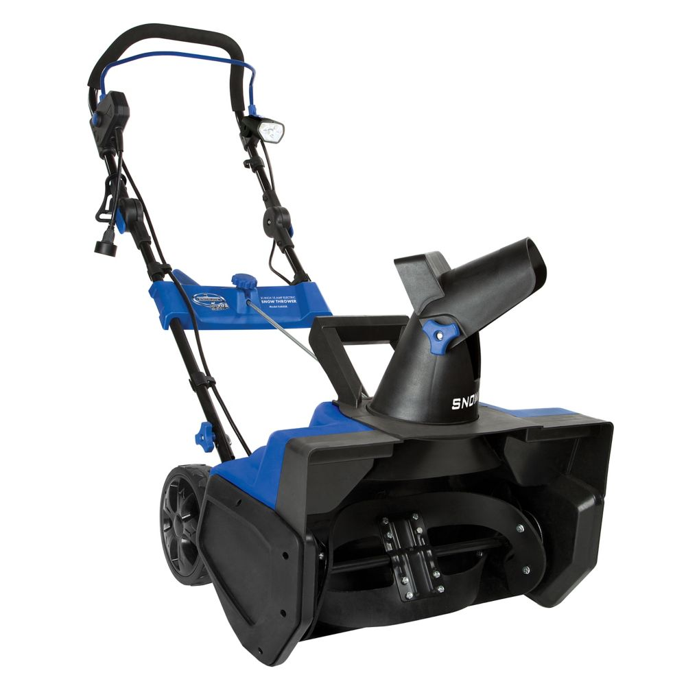 Ultra 21-inch 15 Amp Electric Snow Blower with Light