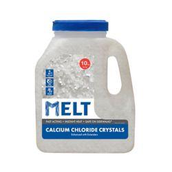 Snow Joe MELT 10 lb Produit de déglaçage à cristaux de chlorure de calcium en bidon