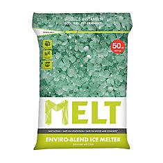 MELT 50 Lb. Resealable Bag Premium Enviro-Blend Ice Melter W/ CMA