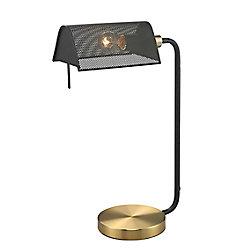 """L2 Lighting Lampe de bureau 21"""" filet métal"""