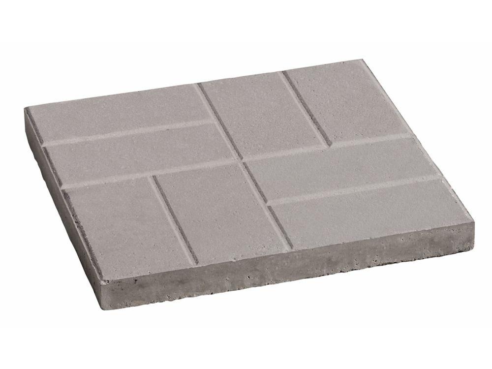 16x16 Brick Slab