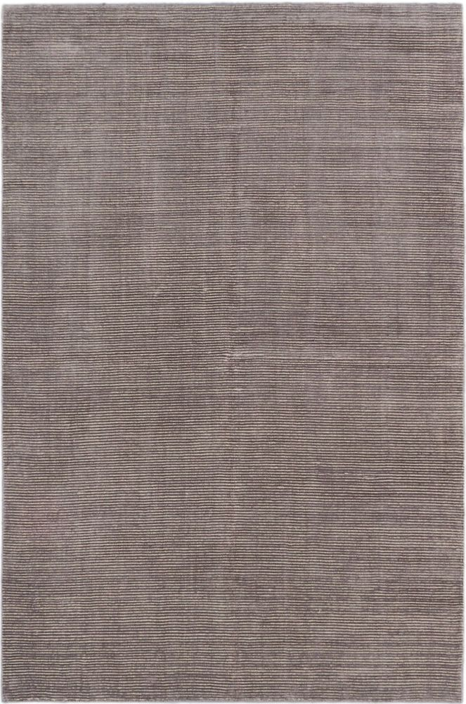 Shimmer Transitional Dark Gray Hand-knotted Rug 181088 Canada Discount