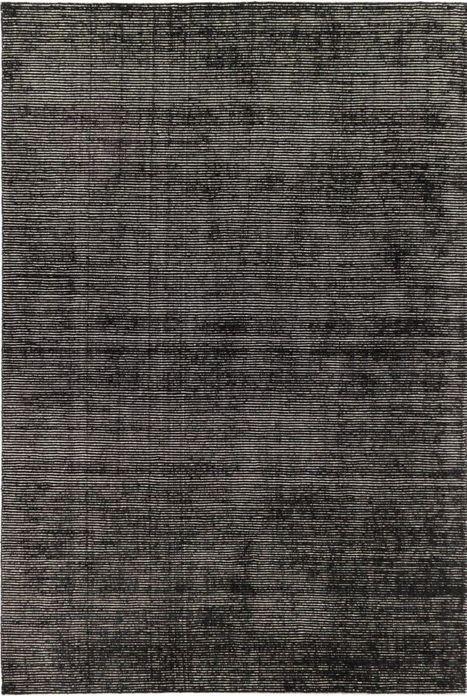 Shimmer Transitional Black Hand-knotted Rug 185411 Canada Discount