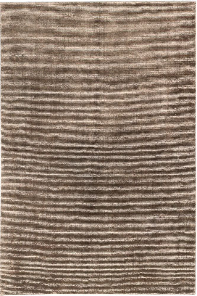 Shimmer Transitional Dark Brown Hand-knotted Rug 185413 Canada Discount