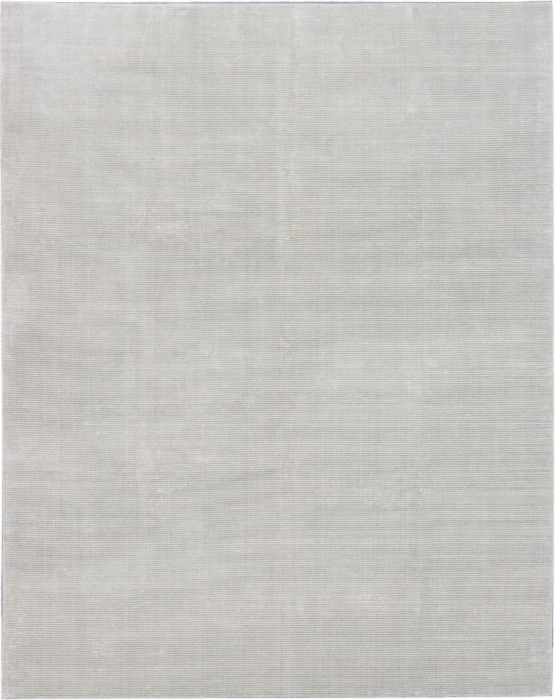Shimmer Transitional Light Gray Hand-knotted Rug 185415 Canada Discount