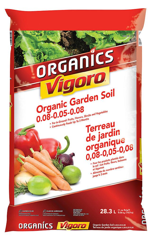 Organic terre a jardin