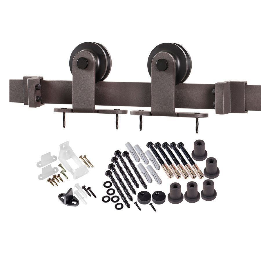Onward Rustic Style Visible Rail System For Decorative