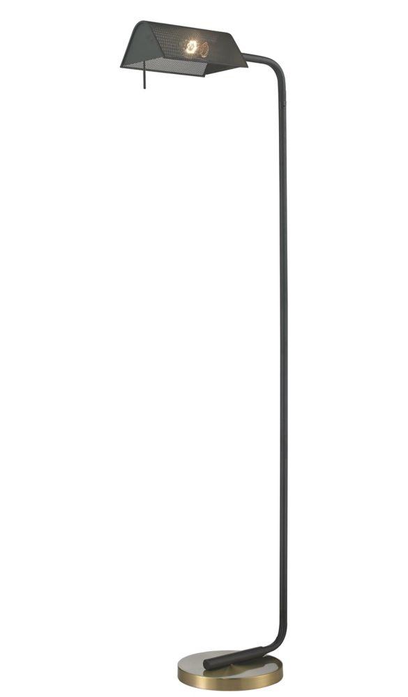 """Lampe de plancher 60"""" filet métal"""