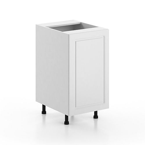 Fabritec Lausanne 18 Inch Base Storage Cabinet in White