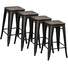 modus box of 4 26 inch - 36 Inch Bar Stools
