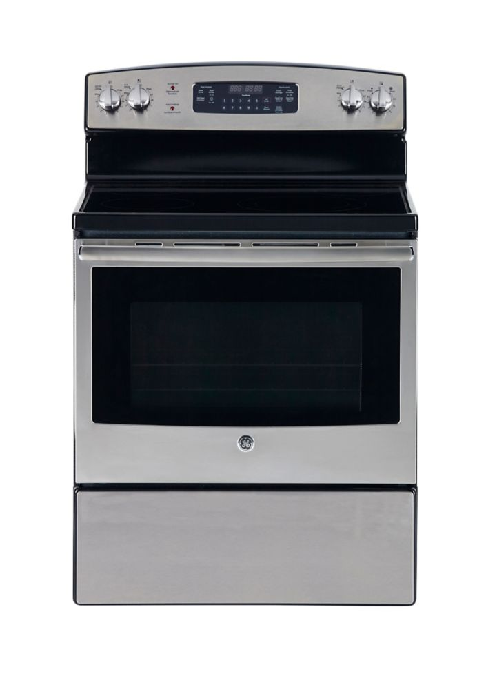 Stainless Steel 30-inch Free-Standing Electric Self-Cleaning Range
