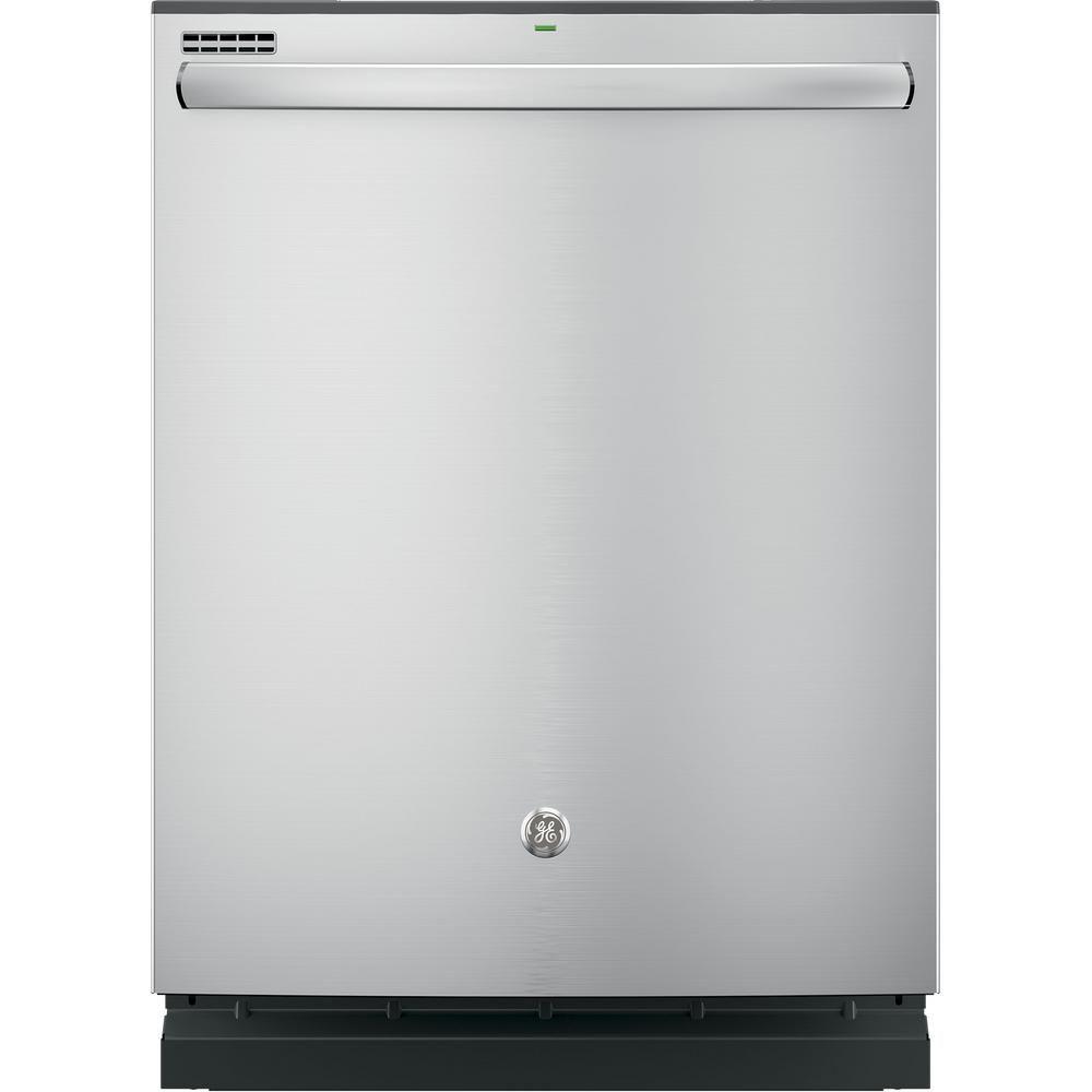 Lave-vaisselle à encastrer à grande cuve, acier inoxydable